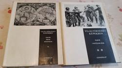 Világtörténet képekben I.II. kötet eladó!