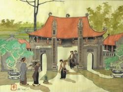 Vietnami életkép - Sí Tuán jelz. (20.sz.közepe)