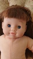 Régi Smoby retro baba puha testű 1976 eredeti Sanrio játékbaba szép állapotban sorszámozott