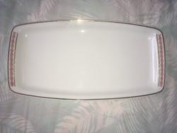 Alföldi porcelán nagy tálaló tál kínáló pecsenyés tál tányér
