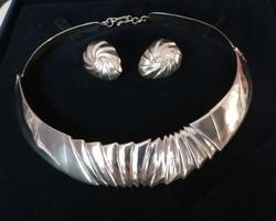 Gyönyörű ezüst szett, 63 gramm!!