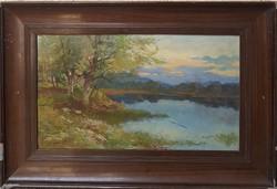 Gioachimo Galbusera (1871-1942) Eredeti Garanciával