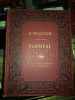Richard Wagner, 1900-as évek nagyon elején kiadott, díszkötésű kottafüzete, Parsifal