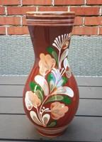 Nagyobb kerámia váza, Sárospataki, nagyon szép és hibátlan 26,5 cm