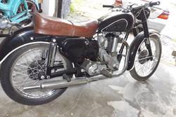 Veterán Angol BSA 350ccm Szép motor kerékpár ritkaság