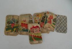 Retro Régi jóskártya, vetőkártya, cigánykártya