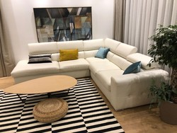 Olasz eredeti bőr kanapé