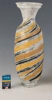 ÓRIÁSI 53 cm Gorka Lívia tigriscsíkos váza