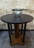 Restaurált antik jugendstill asztal