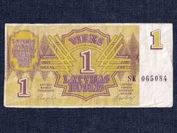 Lettországi 1 rublis 1992 / id 5963/