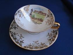 Antik Wien mokkás , kávés csésze egyedi darab hibátlan sosem használt ritkaság