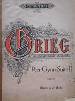 Grieg, Peer Gynt~Suite II. 4 kezes zongora kotta