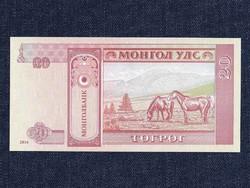 Mongólia 20 Terper bankjegy 2014 / id 8623/