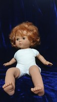 Eredeti spanyol minőségi baba puha testű játékbaba szép állapotban sorszámozott 46cm