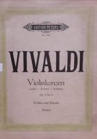 Vivaldi, Violin Konzert A-moll, zongora-hegedű kotta