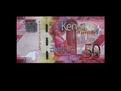 UNC - 50 SHILLINGS - KENYA - 2019 (Az új pénz!)