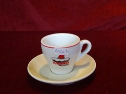 CPA olasz minőségi porcelán  kávéscsésze +alátét. Amigos Caffe.