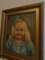 Farkas Kára  tulajdonítva: (1898-1944): kislány portré