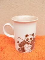 Panda macis porcelán angol bögre