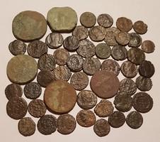 50 Római érme lot!