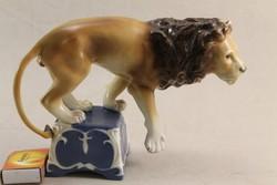 Royal dux- cirkuszi oroszlán G103