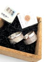 Karácsonyra,keresztelőre ezüst Arando  szalvétagyűrű certifikációval!!!