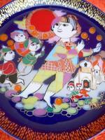 Rosenthal porcelán falitányér