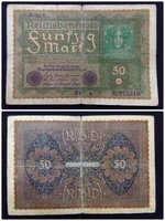 50 márka 1919 / id 1822/