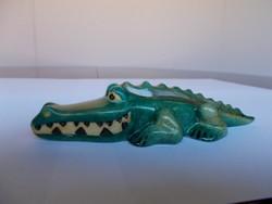 Ritka  Hollóházi krokodil