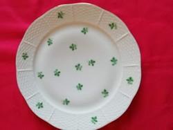 1 db Óherendi porcelán lapos tányér, kézzel festett
