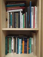 50 darab művészeti könyv 100 Ft/ db áron egyben eladó