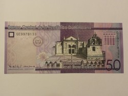 Dominika 50 Pesos UNC 2017/19
