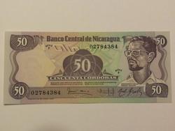 Nicaragua 50 Cordobas UNC 1984