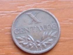 PORTUGÁLIA X 10 CENTAVOS 1968