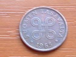 FINNORSZÁG 5 PENNIA 1965