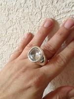 Valles Dordal fantasztikus hatalmas ezüst gyűrű