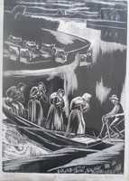   Gáborjáni Szabó Kálmán: Folyóparton 1942