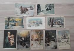 Téli, karácsonyi képeslapok 2.