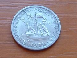 PORTUGÁLIA 2,5 ESCUDO 1970