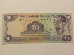 Nicaragua 50 Cordobas UNC 1979