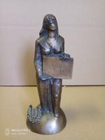 Kirchmayer Károly bronz szobor