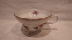 Japán rózsás porcelán csésze