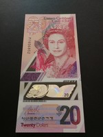 Kelet-Karib Államok 20 dollár UNC 2019