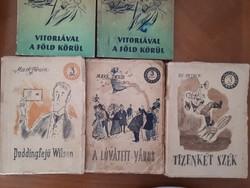Ifjúsági könyvek, krimi, évkönyv,
