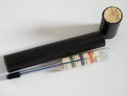 Antik Exax (DRGM német) fotózáshoz használható hőmérő