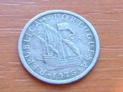 PORTUGÁLIA 2,5 ESCUDO 1975