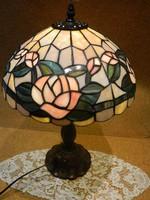 Tiffany asztali lámpa 45 cm.