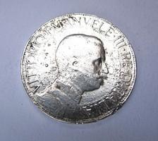Ezüst 2 líra 1910,R!
