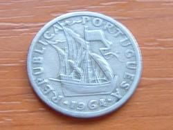 PORTUGÁLIA 2,5 ESCUDO 1964
