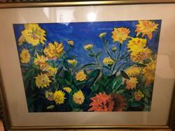 Franta Maly akvarell